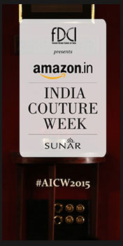 India – FDCI's Amazon India Couture Week 2015 scheduled to kick-off on 29th July, 2015