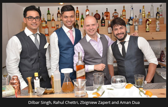 India – Diageo Reserve World Class brings 'The Art of Mixology' to New Delhi