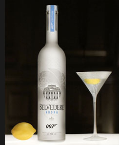 Poland/Hollywood/MI6/India – Special Agent and his Premium Spirit – Belvedere 007 SPECTRE limited edition
