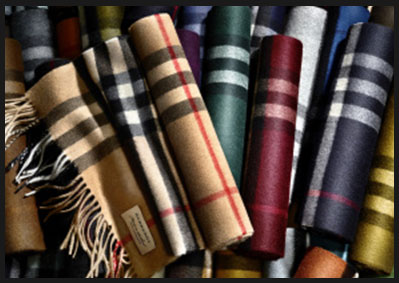 UK – Reinventing two icons with launch of the Burberry Scarf Bar and the Trench Coat