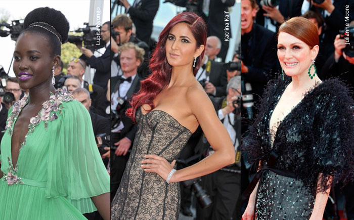 France – Chopard on the Red Carpet at 68th Annual Cannes International Film Festival