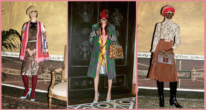 Gucci Women's Pre-Fall 2016 Collection shot by Ari Marcopoulos