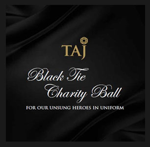 India –Annual Taj Black Tie Charity Ball an elegant event for a worthy cause
