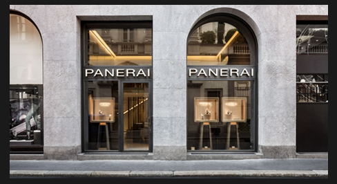 Italy – Officine Panerai Reopens Milan Boutique
