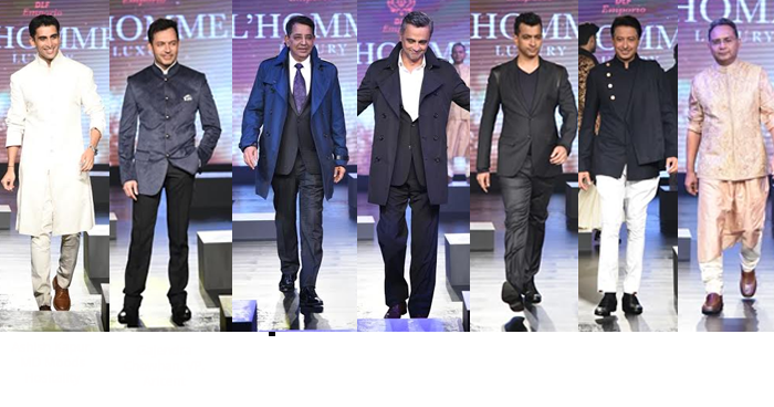 India – DLF Emporio launches L'HOMME 2015 luxury celebration for Men Only