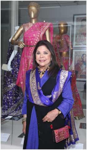India – Ritu Kumar's Banarasi showcase at National Museum ' AtootDor'-Unbroken Thread exhibition