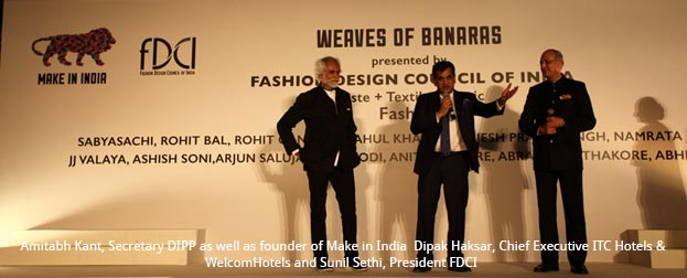 India – FDCI's 'Weaves of Benaras' fashion showcase at 'Make in India' wins applause