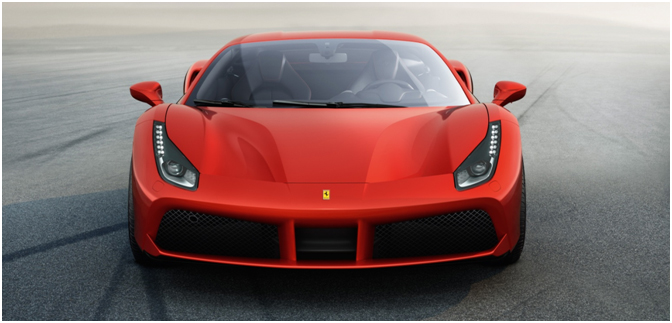 That Red Ferrari – 488 GTB makes its debut in Delhi