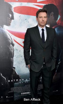 Italy – Gucci dresses Bruce Wayne in movie Batman v Superman
