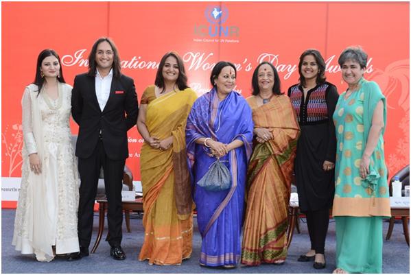 India – ICUNR's International Women's Day Awards hosted by  RatanKaul&LeherSethi