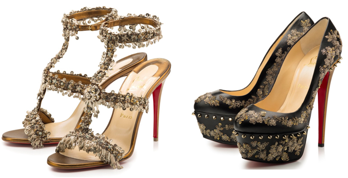 India Louboutin For Sabyasachi Shoes Available At Boutiques