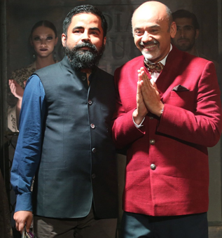 India – Louboutin for Sabyasachi shoes available at boutiques