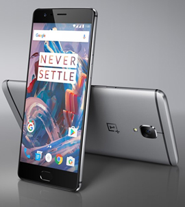 India – OnePlus3 mobile phone launched in India