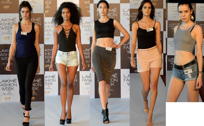 India – Lakme Fashion Week Winter/ Festive 2016 Model Auditions held