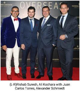 India/Switzerland – VacheronConstantin celebrates Launch of New Overseas Collection in India