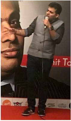 India – Worldmark at Aerocity hosts stand-up comedian in Food Capital to packed house