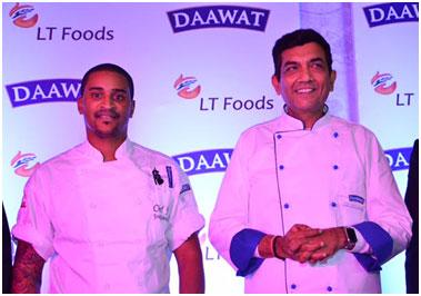 India – Chef Sanjeev Kapoor bats for LT Foods Basmati rice at TajMahal, New Delhi
