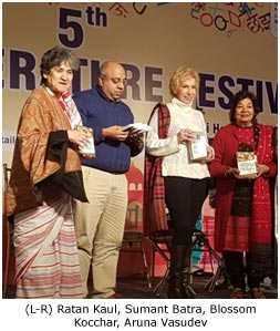 India – Good turnout at 5th Delhi Literature Festival at Dilli Haat