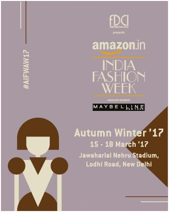India – FDCI to start AIFE A/W '17 with 13 designers showcasing handloom textiles