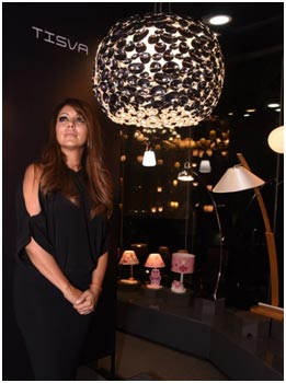 India – Gauri Khan unveils her Signature Collection of Tisva luminaires