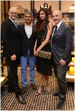India – Coach launches store in DLF Emporio Mall Delhi