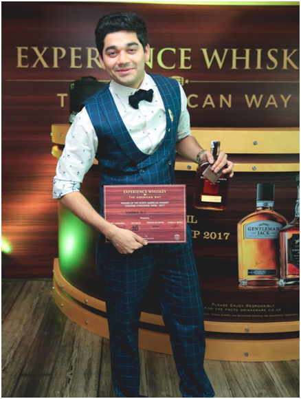 India – Delhi Mixologist Wins India's First Ever North American Whiskey Cocktail Championship