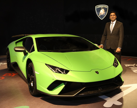 Huracán Performante arrives in India