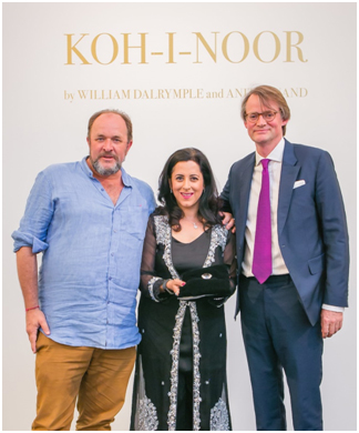 England –Sotheby's hosts event with KOH -I-NOOR authors William Dalrymple & Anita Anand
