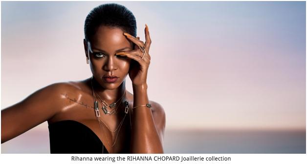 Switzerland – Chopard launches RIHANNA ♥ CHOPARD Joaillerie collection