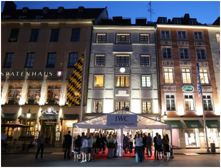 Germany – IWC Schaffhausen opens second German boutique in the heart of Munich