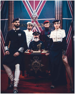 India – Shantanu & Nikhil's A/W 17 Couture line inspired by Military regalia