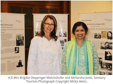 India – Austrian Embassy celebrates inspiring Women with Calliope Austria exhibition