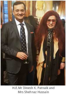 London – High Commission of India hosts Indian designers at London Fashion Week