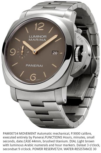 Italy – Officine Panerai launches Luminor time pieces exclusively for India, Middle East