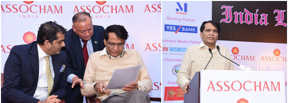 India – 5th India Luxury Summit 2017 hosted by ASSOCHAM at Shangri-la's Eros