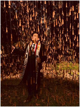 India – Manav Gupta's Global Art Project's latest: 'Rain' for 2018 worldwide Premier