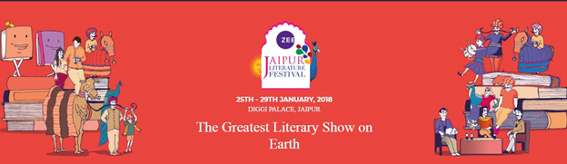 India – 11th Jaipur Literature Festival back at Diggi Palace from 25 – 29 Jan 2018