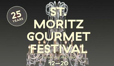 Switzerland –25th St. Moritz Gourmet Festival back from 12 – 20 January