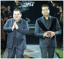 India – Designers Rohit Gandhi & Rahul Khanna celebrate 20 years in fashion at Lodi Hotel