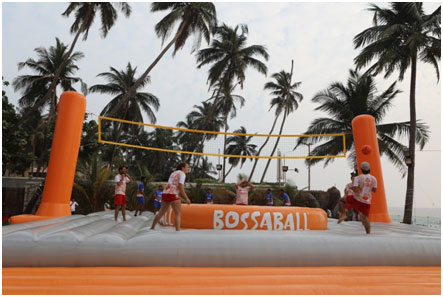 India / Spain – New Spanish game Bossaball launched in India