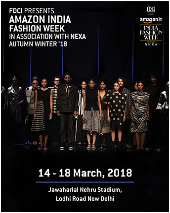 India – FDCI's AIFW AW'18 fashion week associates with Tom Tailor