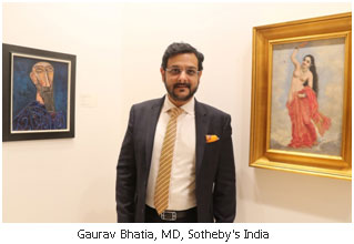 India – Sotheby's hosts preview in Delhi ahead of New York auction in March