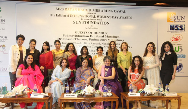 India – Women's day celebrated across Delhi and Mumbai with Awards and felicitations
