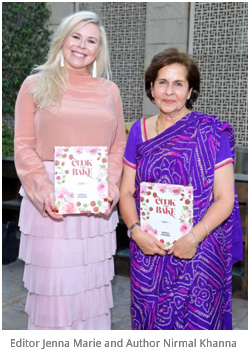 India – Fifth edition of Nirmal Khanna's Cook & Bake -The Easy Way launched at The Lodi