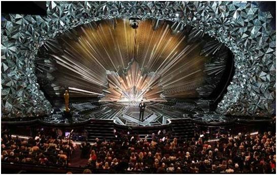 USA – Swarovski's stunning set design at 90th Oscars® Stage studded with 45 million crystals