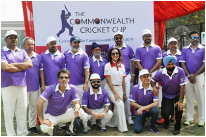 India – Commonwealth Cultural Forum hosts Fun Cricket Match for a Cause