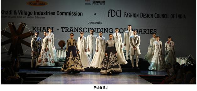 Rohit Bal, Khadi Fashion Show