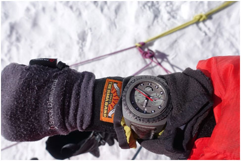 India/Switzerland- Adrian Ballinger climbs Mount Everest with Favre Leuba Raider Bivouac 9000