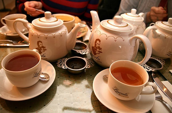 Tea for Two with a Large Slice of History