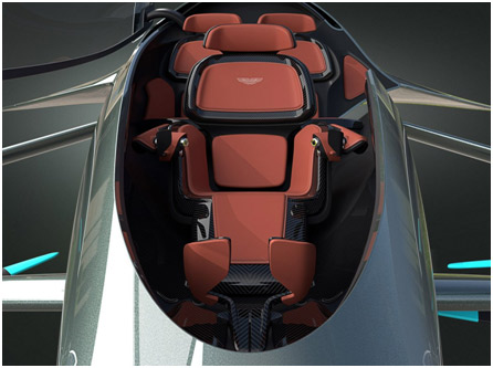 UK – Aston Martin to launch Volante Vision Concept Flying Cars